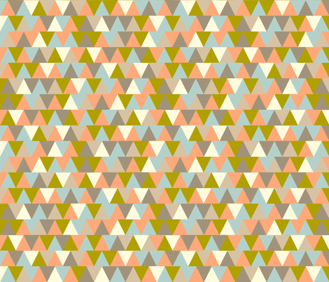 TV Triangles fabric by pennycandy on Spoonflower - custom fabric
