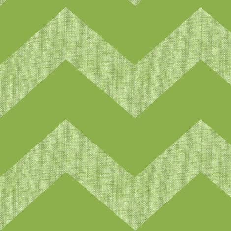 chevron burlap / green tomato  fabric by paragonstudios on Spoonflower - custom fabric