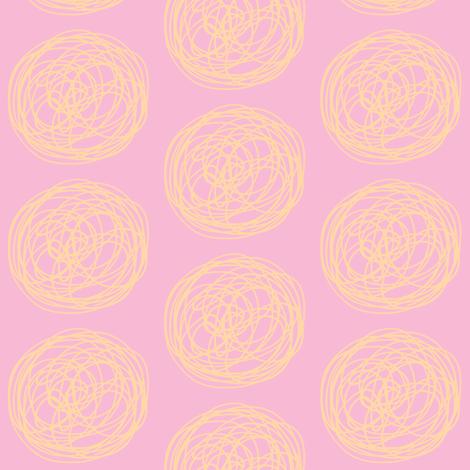 Tumbleweed (pink & light tangerine)