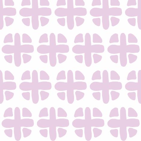 purple spotty plus fabric by pattyryboltdesigns on Spoonflower - custom fabric