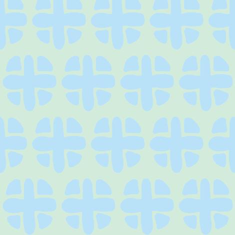 blue spotty plus (sky blue & sea foam green) fabric by pattyryboltdesigns on Spoonflower - custom fabric