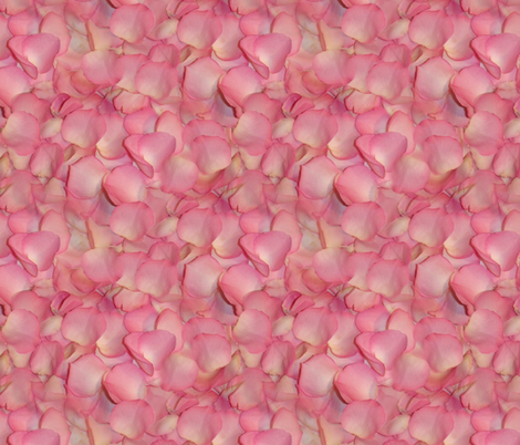 Rose's Petals fabric by peacoquettedesigns on Spoonflower - custom fabric