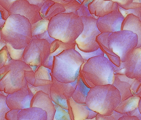 River's Petals fabric by peacoquettedesigns on Spoonflower - custom fabric