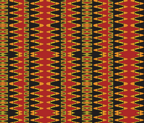Hantas (Ruby) fabric by david_kent_collections on Spoonflower - custom fabric