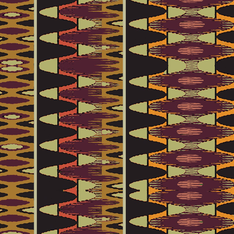 Hantas (Carnelian) fabric by david_kent_collections on Spoonflower - custom fabric