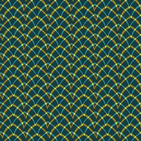 double_arch_203 fabric by glimmericks on Spoonflower - custom fabric