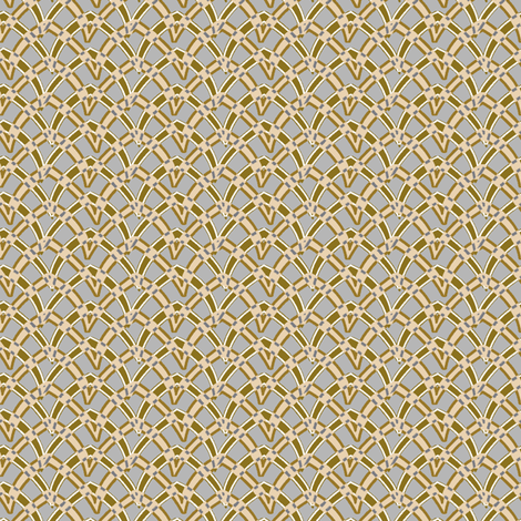 double_arch_206 fabric by glimmericks on Spoonflower - custom fabric