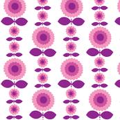 Vintage Flower in Pink