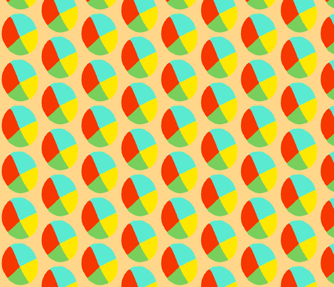 Beachball fabric by trishadstudio on Spoonflower - custom fabric