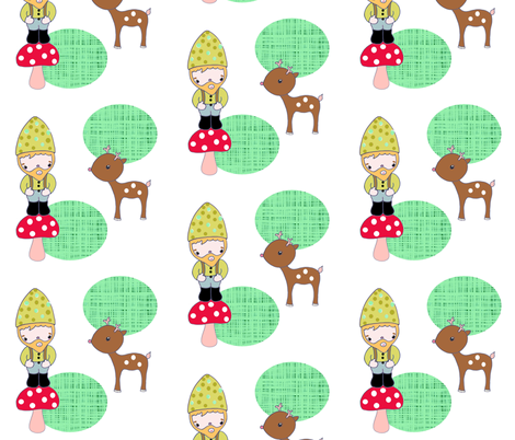 dwarffabric_design fabric by blossomnbird on Spoonflower - custom fabric