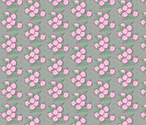 peonies fabric by glimmericks on Spoonflower - custom fabric