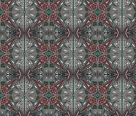 Tribal_Graffiti fabric by yezarck on Spoonflower - custom fabric