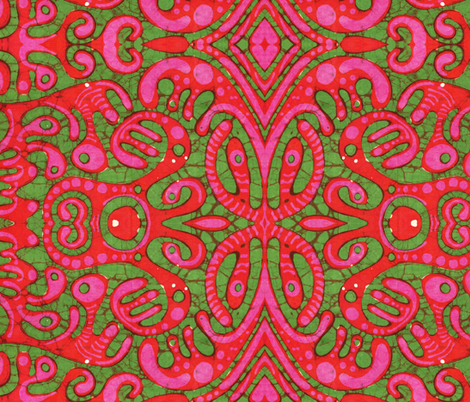 doublewidegroove fabric by hooeybatiks on Spoonflower - custom fabric