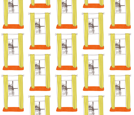 windows fabric by mummysam on Spoonflower - custom fabric