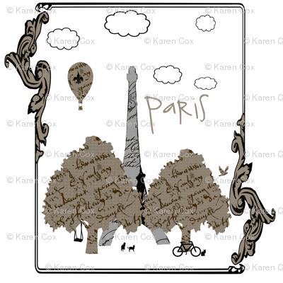 Paris vingnette