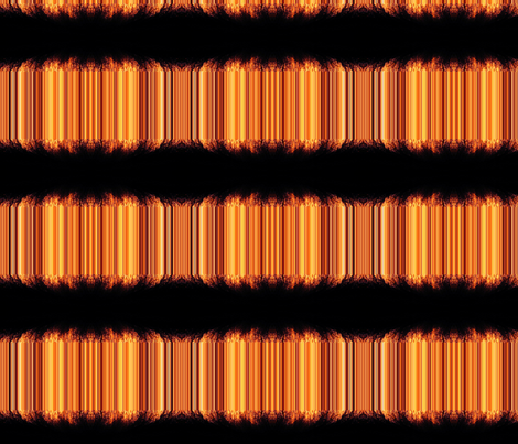 Fire-Flames-ed fabric by ocra on Spoonflower - custom fabric