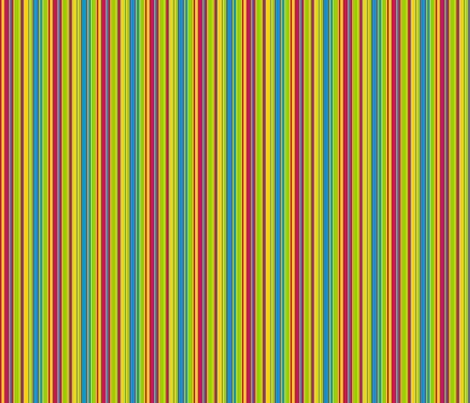 Retro Multi-Stripes 2 fabric by stitchwerxdesigns on Spoonflower - custom fabric