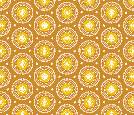 Bandana* (Gold Seal) fabric by pennycandy on Spoonflower - custom fabric