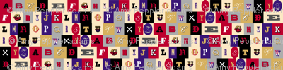Washi Tape Alphabet