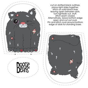 Zombie Cat Plush