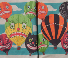 Halloween Hot Air Balloons