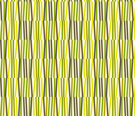 Washi Tape Strips (Green) fabric by pennycandy on Spoonflower - custom fabric