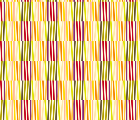 Washi Tape Strips (Multi) fabric by pennycandy on Spoonflower - custom fabric