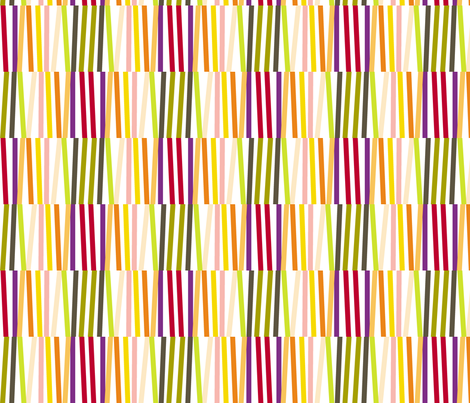 Washi Tape Strips (Multi) || stripes sticks lines matches stripe bamboo fabric by pennycandy on Spoonflower - custom fabric