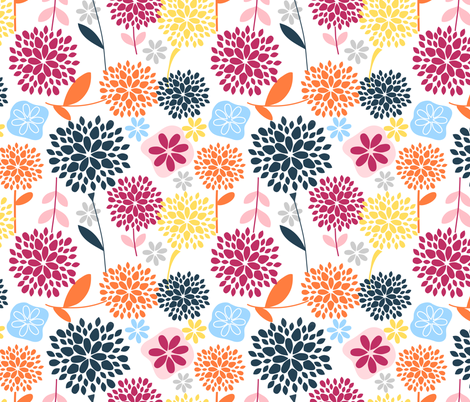 Starburst fabric by emilyb123 on Spoonflower - custom fabric