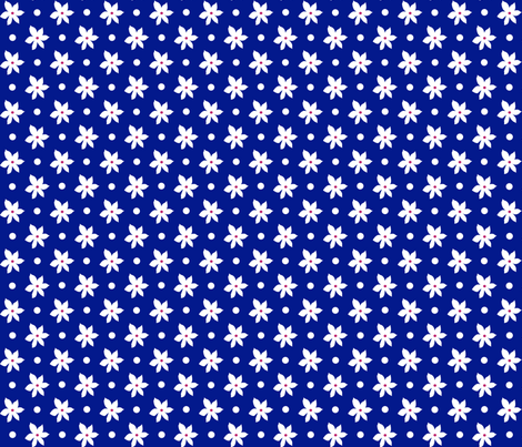 Navy01_150dpi fabric by curlywillowco on Spoonflower - custom fabric