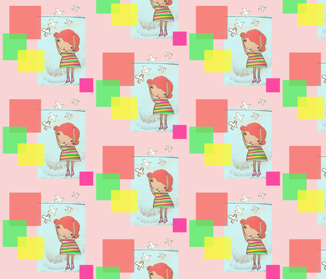 spoonflower fabric by blossomnbird on Spoonflower - custom fabric