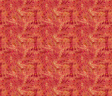 Coral Lipstick Swirl-1000 fabric by wren_leyland on Spoonflower - custom fabric