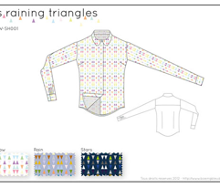 It's raining triangles - Rainbow combo