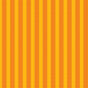 Robot Leg Stripe Yellow