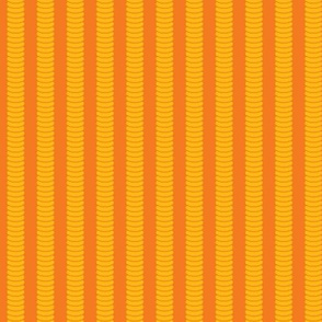 Robot Leg Stripe - Orange