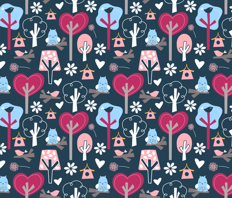 Wonderland fabric by emilyb123 on Spoonflower - custom fabric