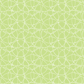 Linear Circles in Pale Green