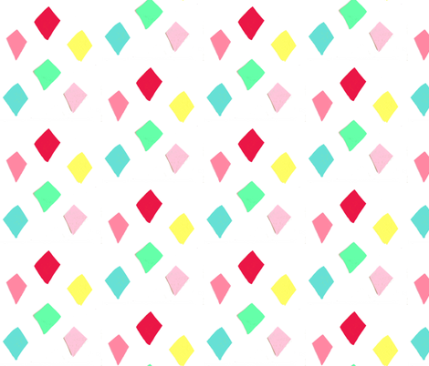 spoonflower_diamonds fabric by blossomnbird on Spoonflower - custom fabric