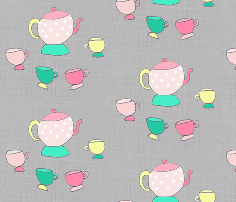patterntea fabric by blossomnbird on Spoonflower - custom fabric