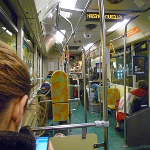 On the 63 Bus, Paris