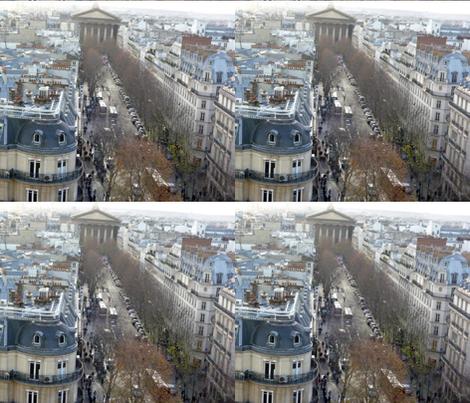 Rue Tronchet leading up to Place de la Madeleine, Paris