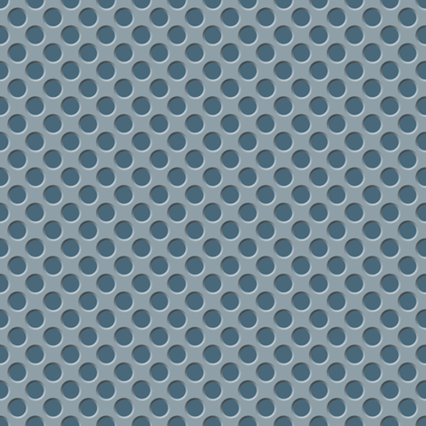 Tin Spots: Dark Steel fabric by spellstone on Spoonflower - custom fabric