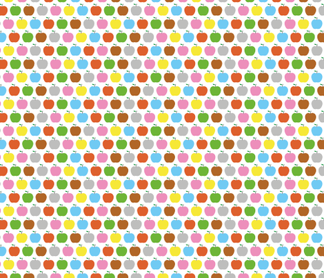 Apples fabric by ankepanke on Spoonflower - custom fabric