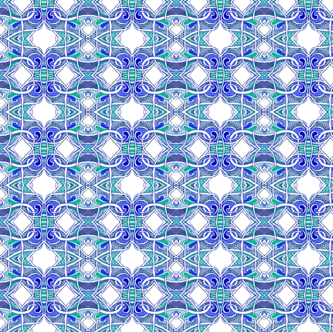 Not Now, I'm Taking a Shower fabric by edsel2084 on Spoonflower - custom fabric