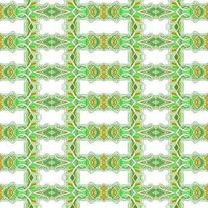 Nouveau Deco Lemon Lime Grid