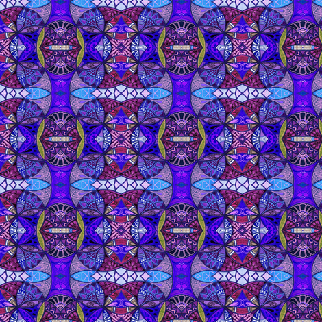 P is For Purple fabric by edsel2084 on Spoonflower - custom fabric