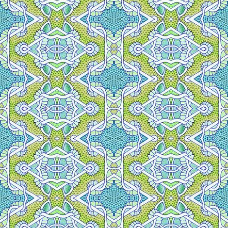 Help, I've Been Framed fabric by edsel2084 on Spoonflower - custom fabric