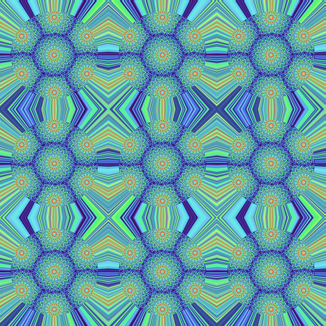 Electric Iris 2 fabric by dovetail_designs on Spoonflower - custom fabric