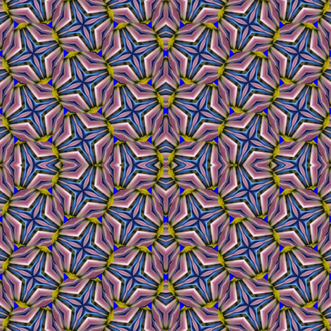 Peter's Painted Petals - Flower Power 7 fabric by dovetail_designs on Spoonflower - custom fabric