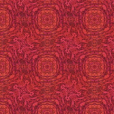 Crimson Wobble fabric by wren_leyland on Spoonflower - custom fabric